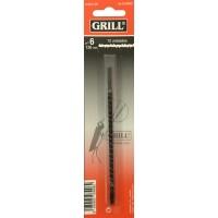 Sierras GRILL ESPIRAL - 6x13SPID - Medidas 0,40x1,00x130 mm - 12 unidades